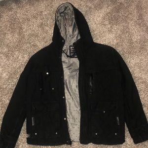Matix black padded jacket medium